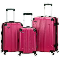Rockland Luggage Sonic 3 Piece Hardside Spinner Set