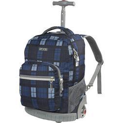 "J World New York Sunrise Rolling Backpack - 18"" 67 Colors"