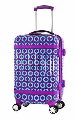 J World New York Taqoo Polycarbonate Carry-on Spinnger Lugga