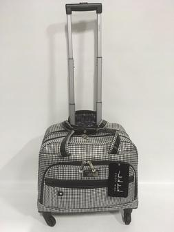 Nicole Miller Taylor Carry On Spinner Briefcase