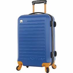 "Nautica Tide Beach Hardside Spinner 21"" Suitcase Luggage Mul"