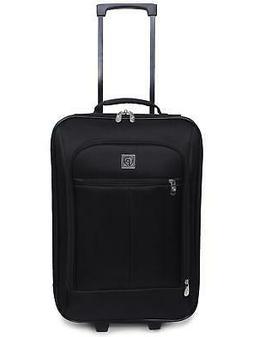 "Travel Bag Carry-On Pilot Luggage 18"" Telescopic Handle Dura"