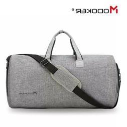 travel garment bag with shoulder strap duffel