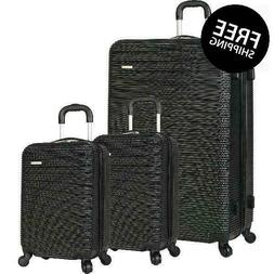 Travel Gear Hardside Spinner Luggage Set With 2 Carry Ons