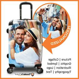 """Traveler's Choice 22"""" Carry-on Customized Printing Expandabl"""