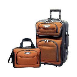 Traveler's Choice Amsterdam 2-Piece Carry-On Luggage Luggage