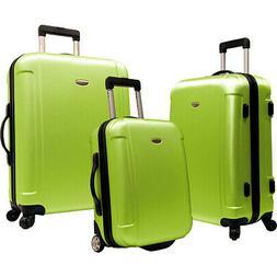 Traveler's Choice Freedom II - 3-Piece Hardside Luggage Set