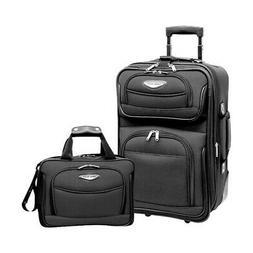 Traveler's Choice Unisex  Amsterdam 2-Piece Carry-On Luggage