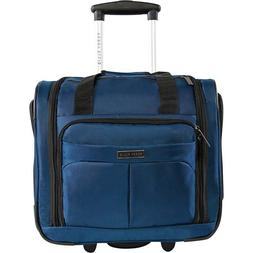 "Under Seat 16"" Rolling Carry-On Bag Wheeled Luggage Travel 9"