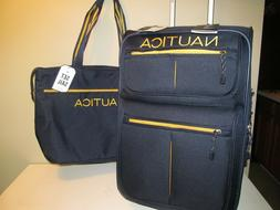 NAUTICA Unisex Rolling Cabin approved Carry On & Matching La