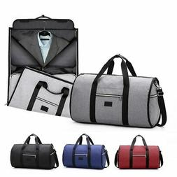 Waterproof Travel Hand Bag Men Women Garment Suit 2 In 1 Lar