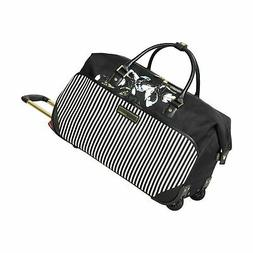 Vince Camuto Wheeled Carry On Travel Duffel Bag Weekender, B