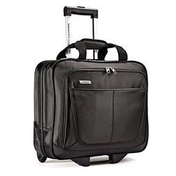 American Tourister Wheeled Mobile Office, Black, One Size