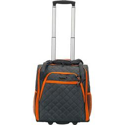 Rockland Luggage Wheeled Underseat Carry-On 6 Colors Softsid
