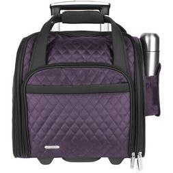 """Travelon Wheeled Underseat Carry-On Bag 14"""" - eBags Softside"""