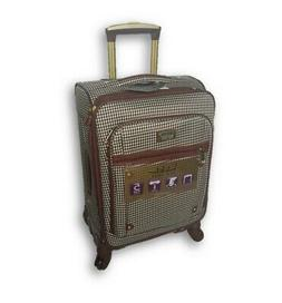 """WOMEN'S NICOLE MILLER 20"""" CARRY-ON EXPANDABLE SPINNER LUGGAG"""